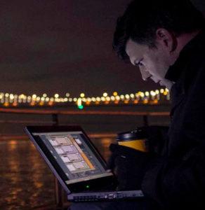 "Photo of Leo Villareal '90, ""Animating Light"""