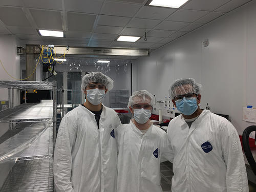 An image of the YUAA CubeSat Team 2019
