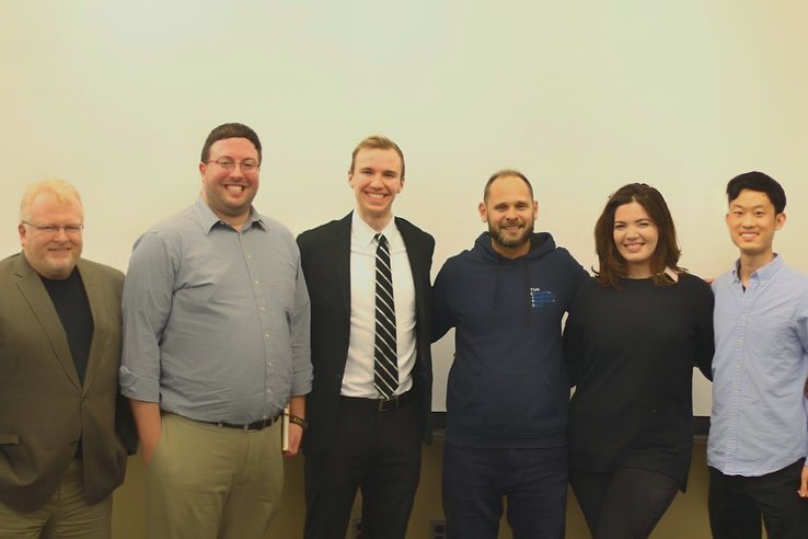 The judges for the 2019 Inaugural Pitch Night