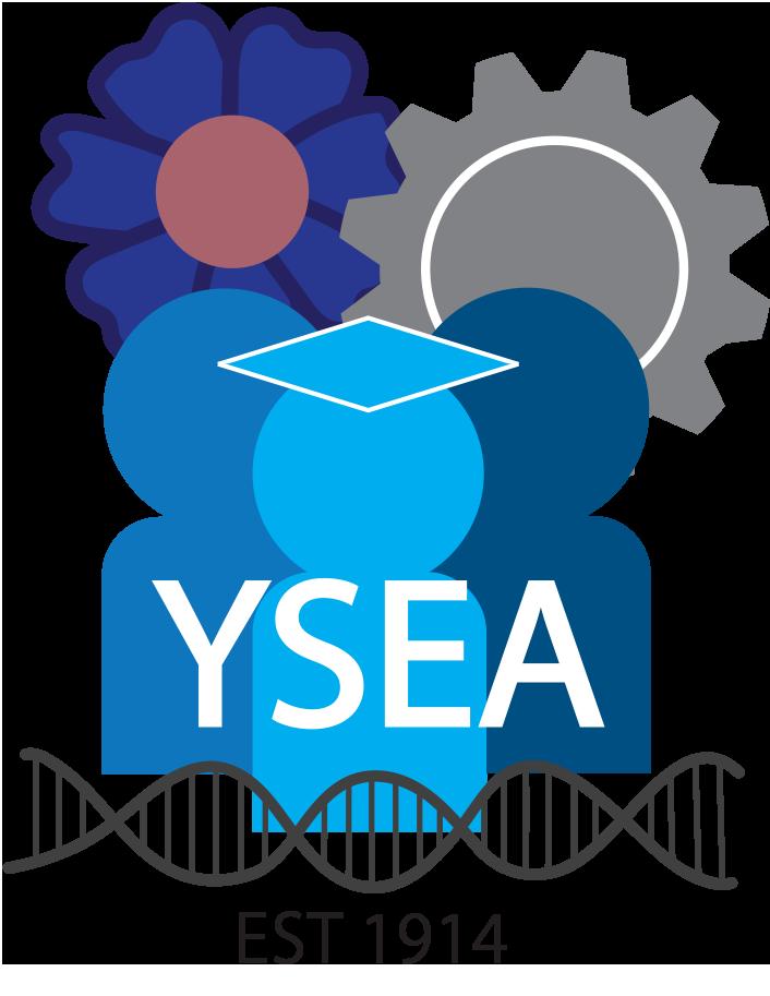YSEA blue people logo