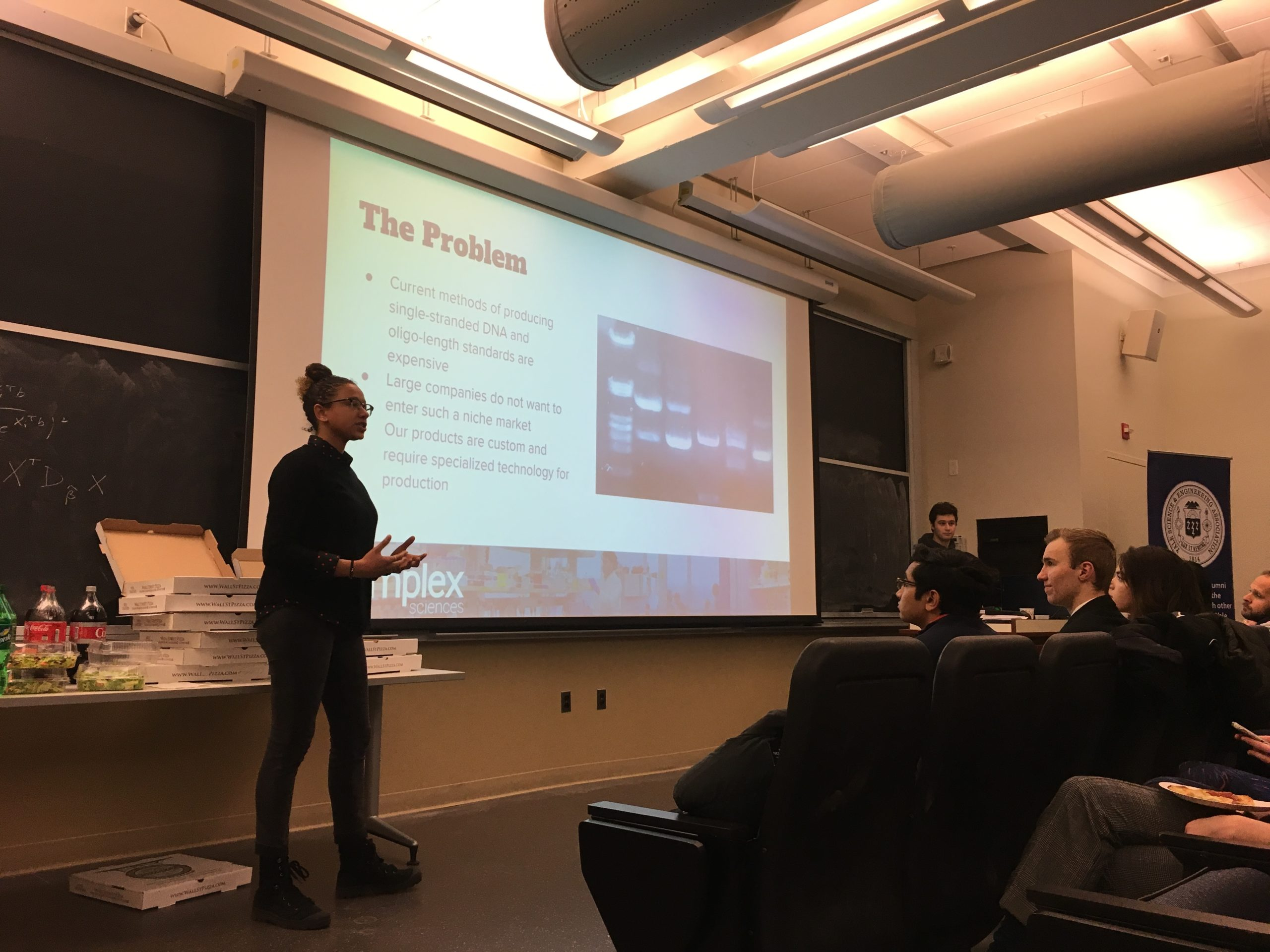 One of the presentations during the YSEA 2019 Inaugural Pitch Night.