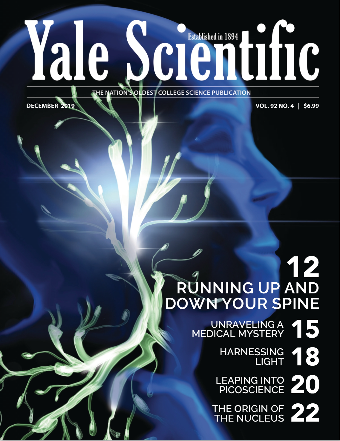 YSM art for cover page from December 2019 issue